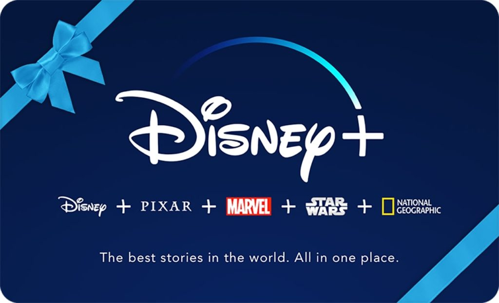 How to give a gift subscription to Disney Plus streaming service