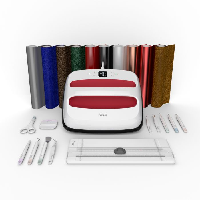 Cricut EasyPress 2 + Essentials Iron-On Bundle