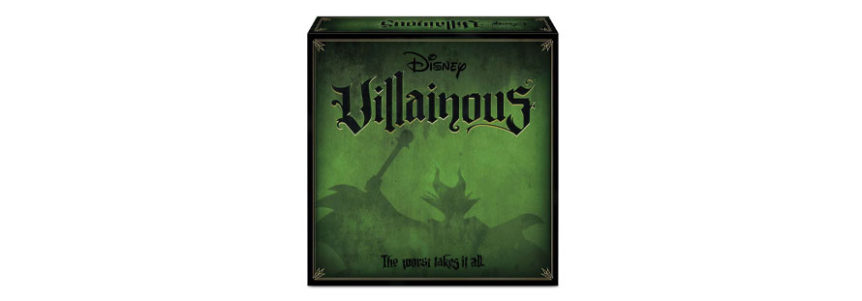 Read my full review of Disney's Villainous board game