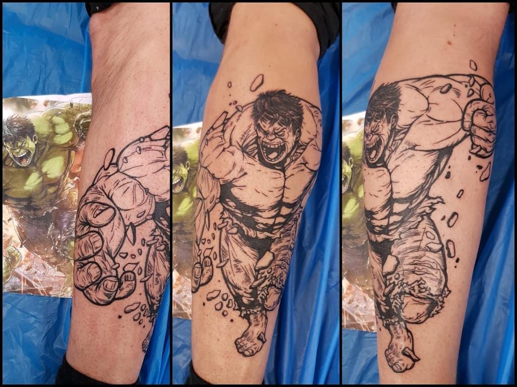 Best Incredible Hulk Tattoo Ideas