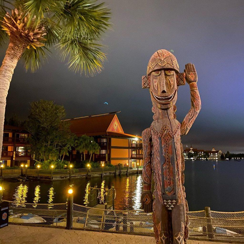 Disney's Polynesian Village Resort overview