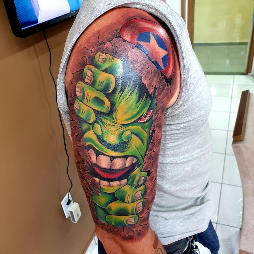 Incredible Hulk Tattoos