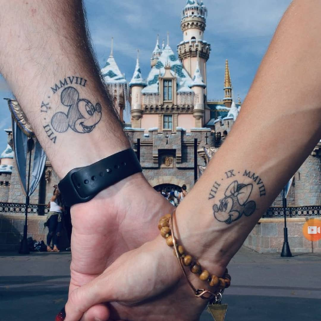 Best Mickey Mouse Tattoo Designs