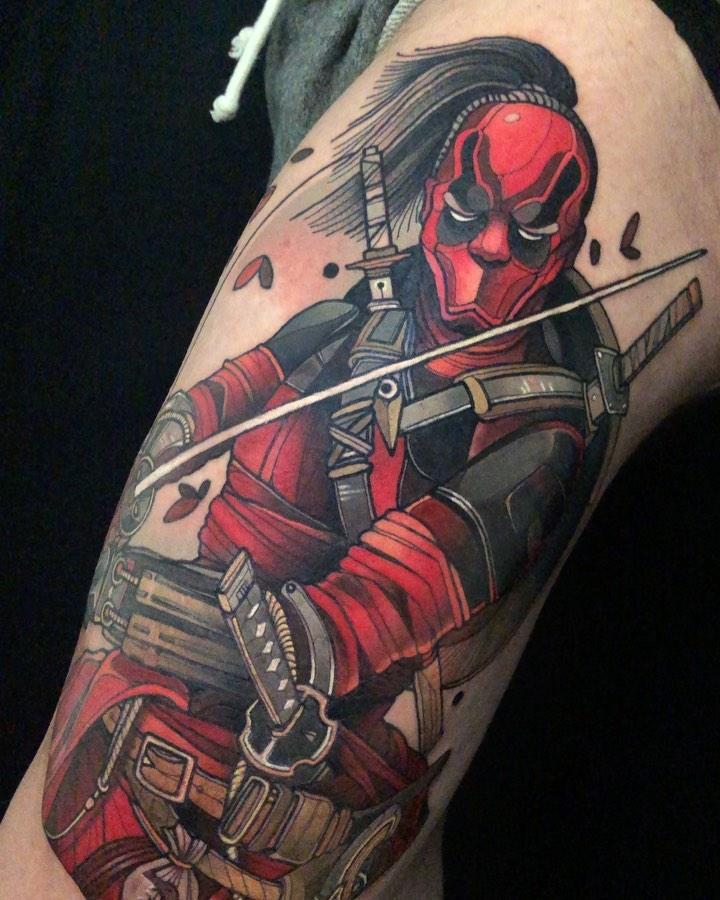 Deadpool Tattoos
