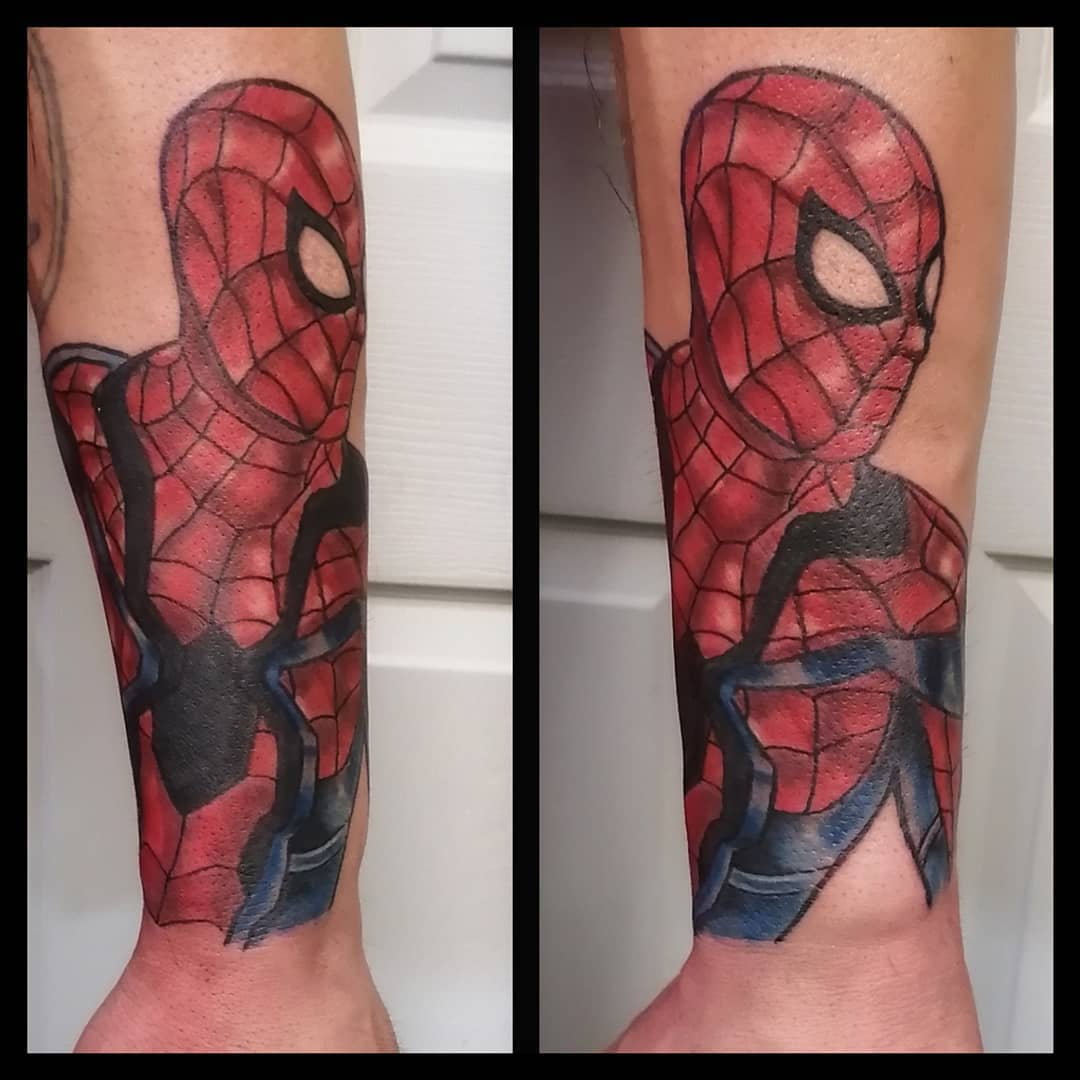 The Best Spiderman Tattoo Ideas! Over 30 amazing designs