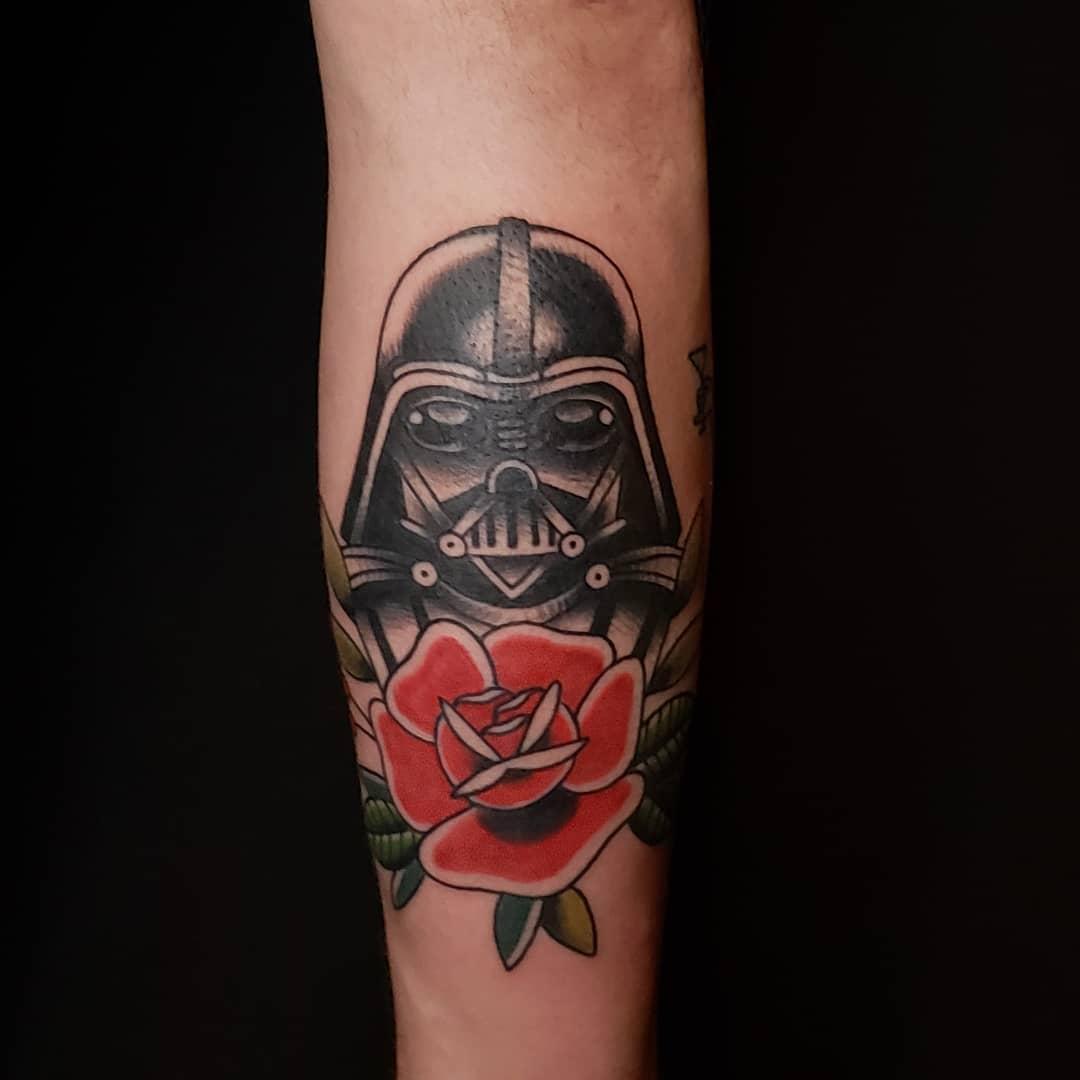 Darth Vader's Memoriam Tattoo
