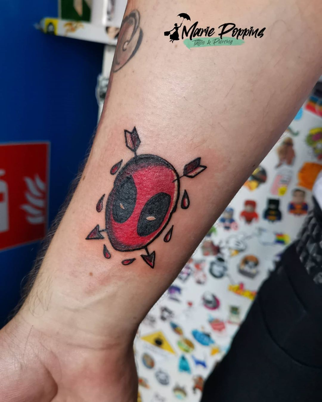 Updated 30 Deadpool Tattoos With Attitude November 2020