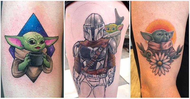 Baby Yoda Tattoo Ideas
