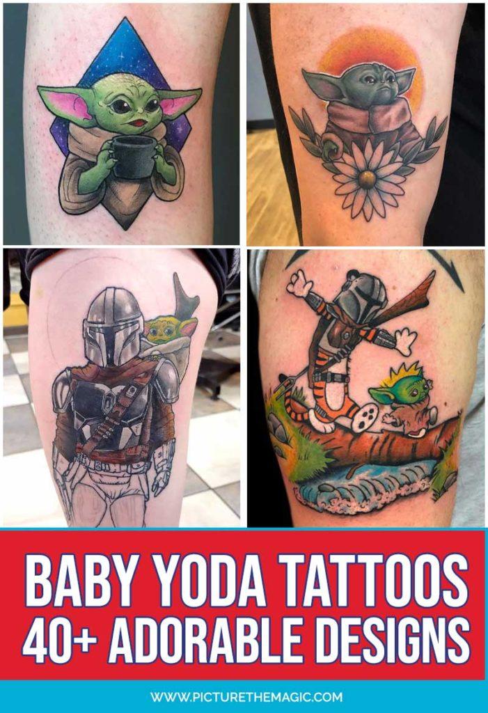 Best Baby Yoda Tattoos