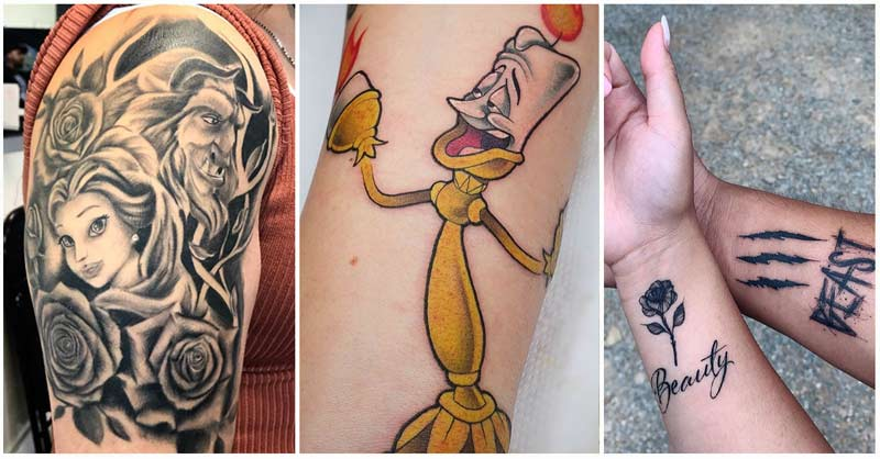Best Beauty and the Beast Tattoo Ideas