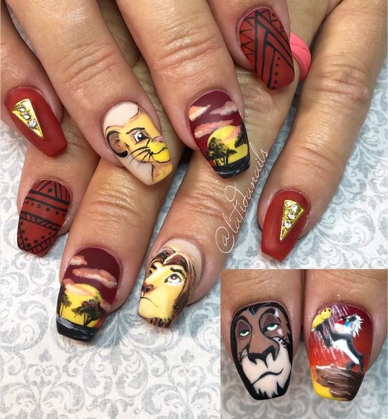 Classic Disney Nail Art Collection