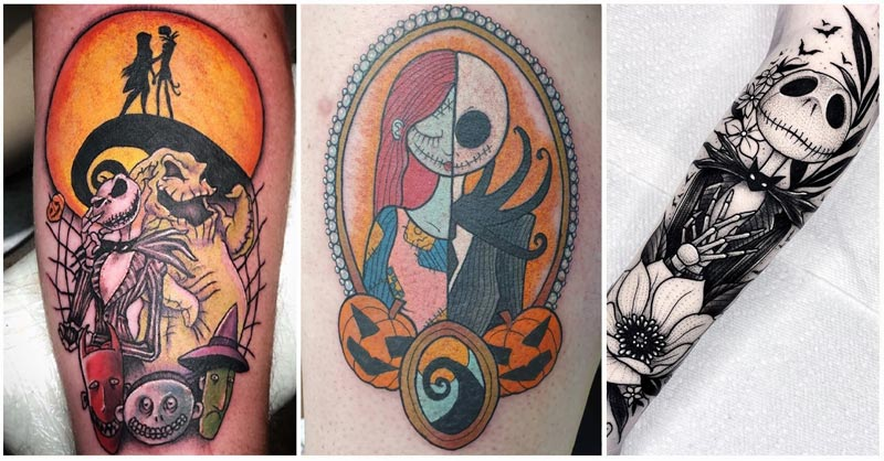 Looking for ideas of a great Nightmare Before Christmas Yoda tattoo? Here are the best Jack Skellington tattoo designs of the year! Get inspired by these tattoo stencils.