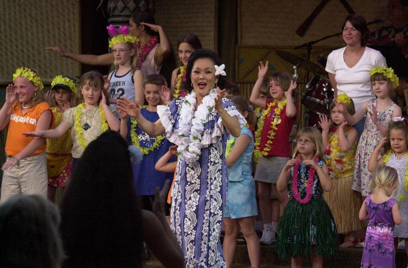 Spirit of Aloha at Disney's Polynesian Village Resort in Orlando, Florida