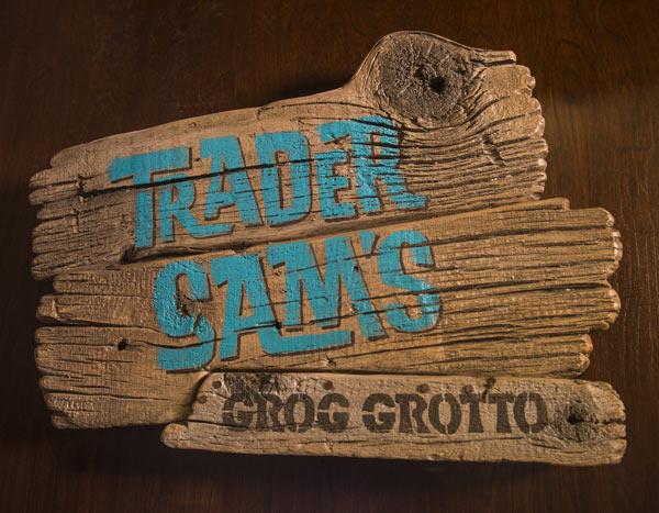 Trader Sam Sign at Disney Polynesian Village Resort
