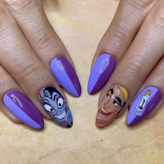 Amazing Disney Nails!