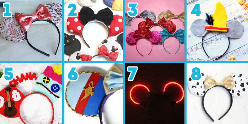 Classic Mickey Mouse Ears DIY Tutorials