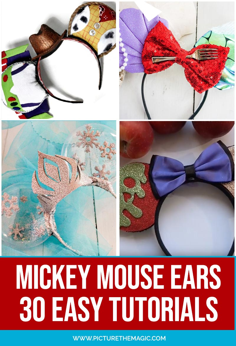 How to make Mickey Mouse ears