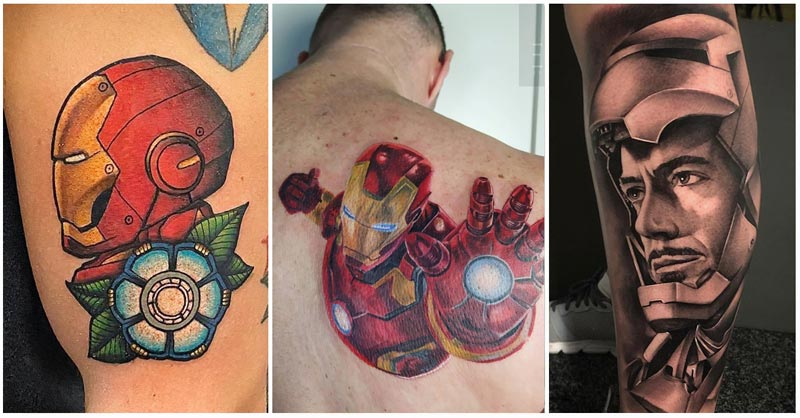 3 Iron Man Tattoos featured