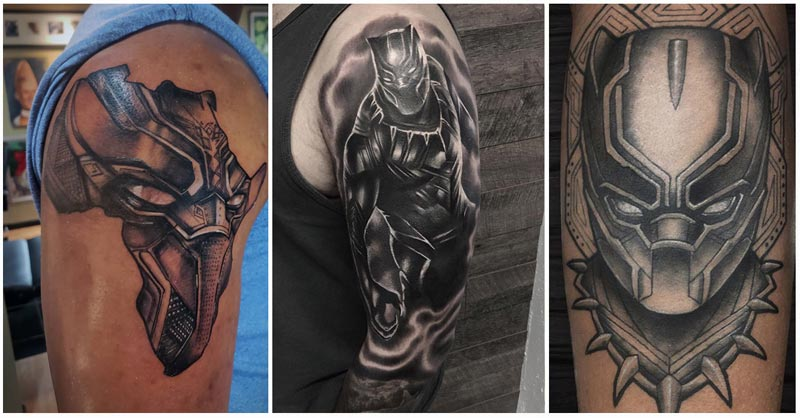 Black Panther Tattoos