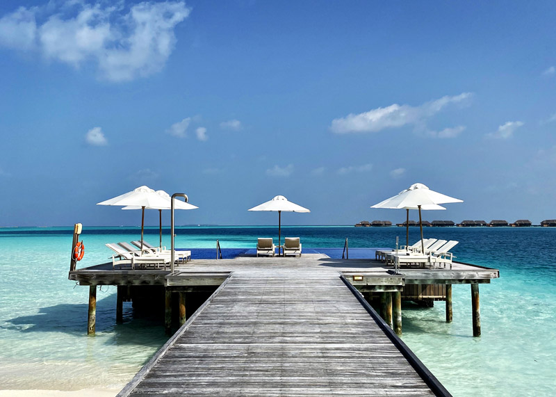 Quiet Pool at Rangali Island, Conrad Maldives by Hilton