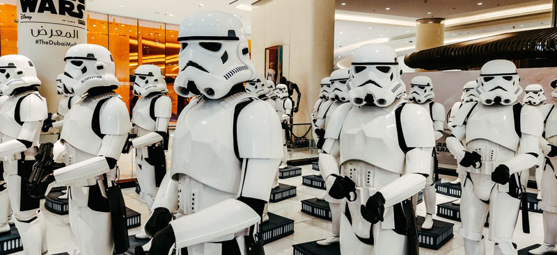 Stormtroopers Photo by Philipp Katzenberger on Unsplash