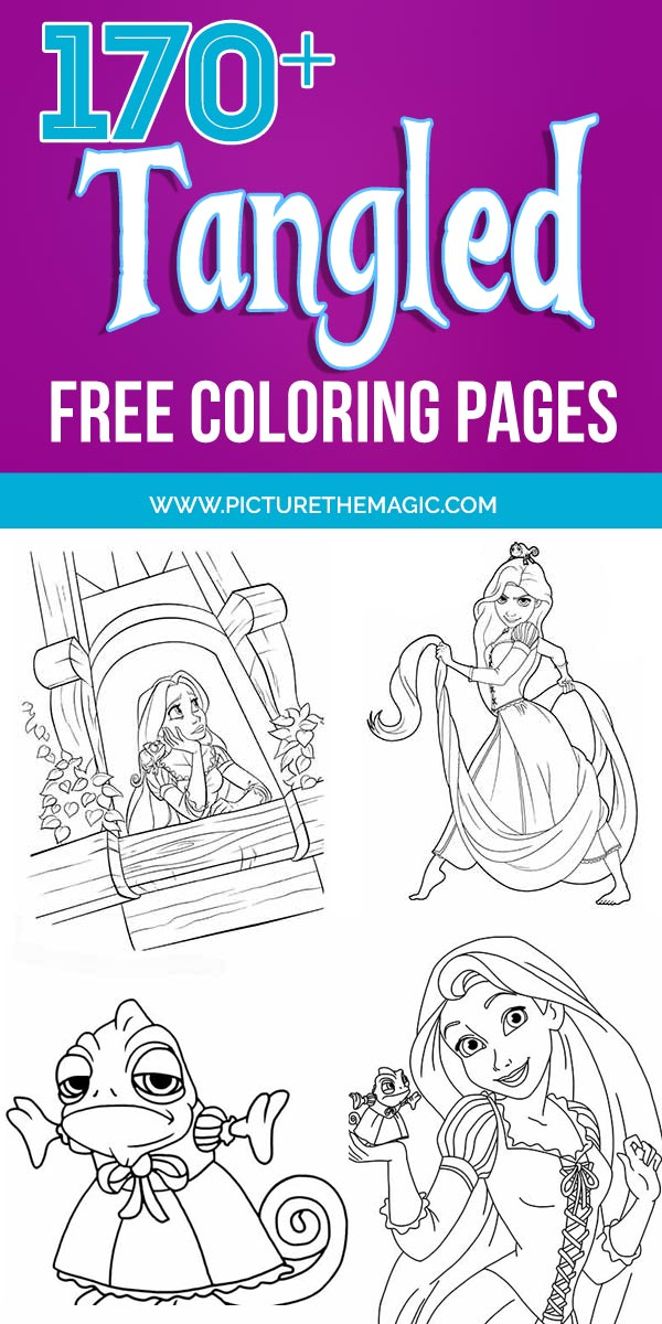 170 Free Tangled Coloring Pages Nov 2020 Rapunzel Coloring Pages