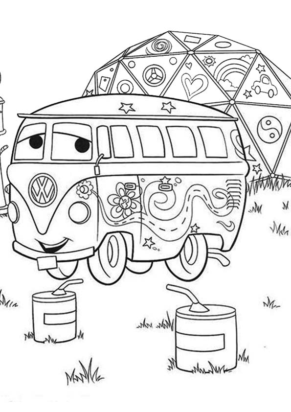 fillmore the van from cars