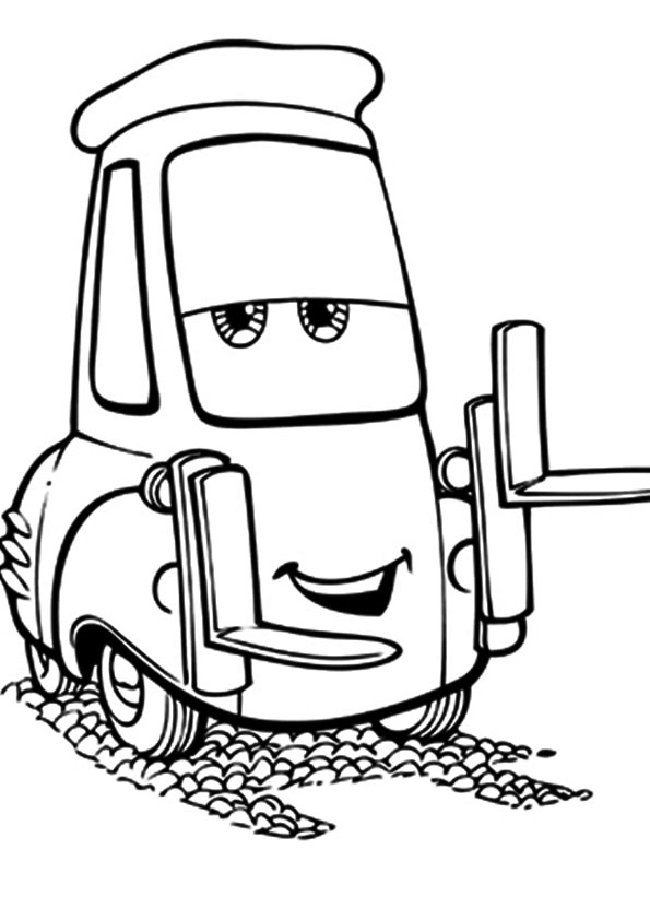guido the forklift