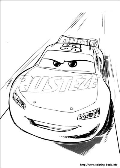 Updated Lightning Mcqueen Coloring Pages August 2020