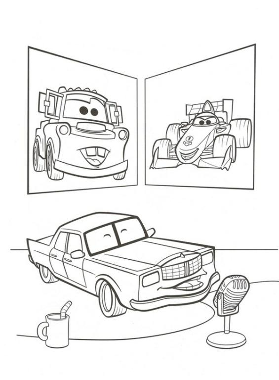 announcer car