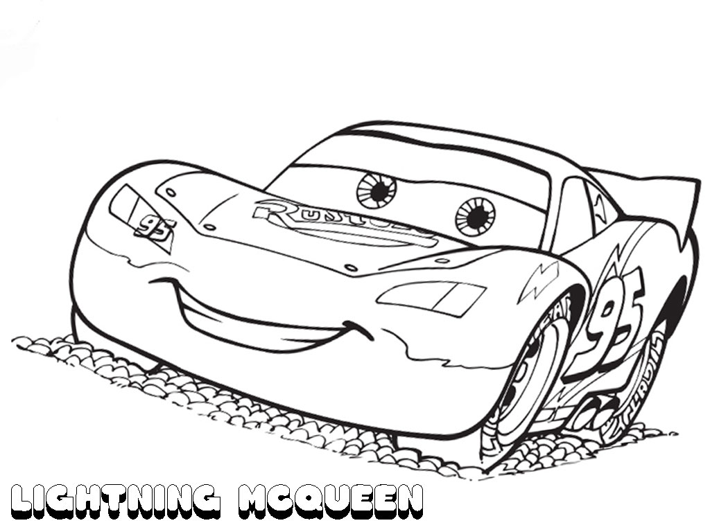 UPDATED] Lightning McQueen Coloring Pages (September 15)