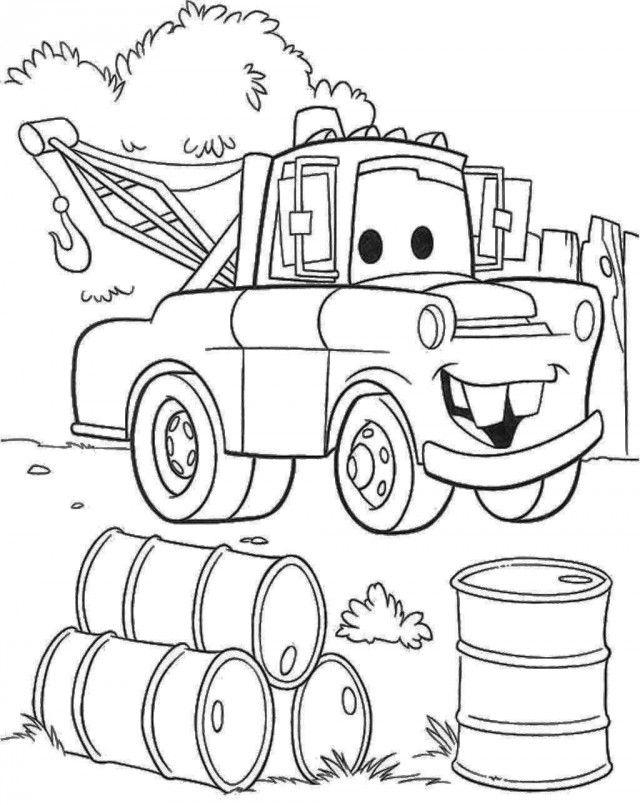 mater at his junkyard