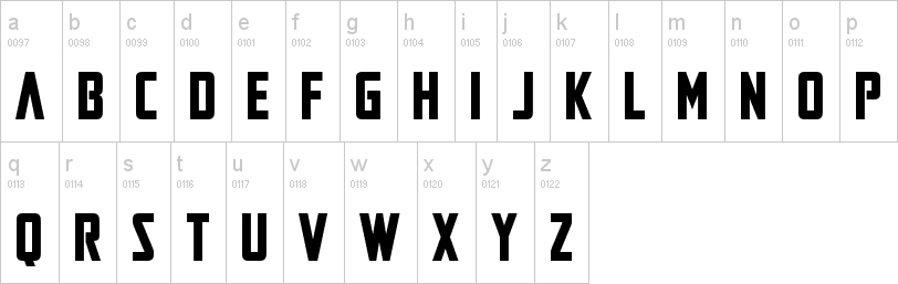 Mandalorian font lowercase