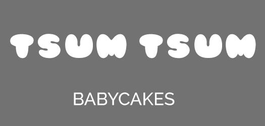 Tsum Tsum font
