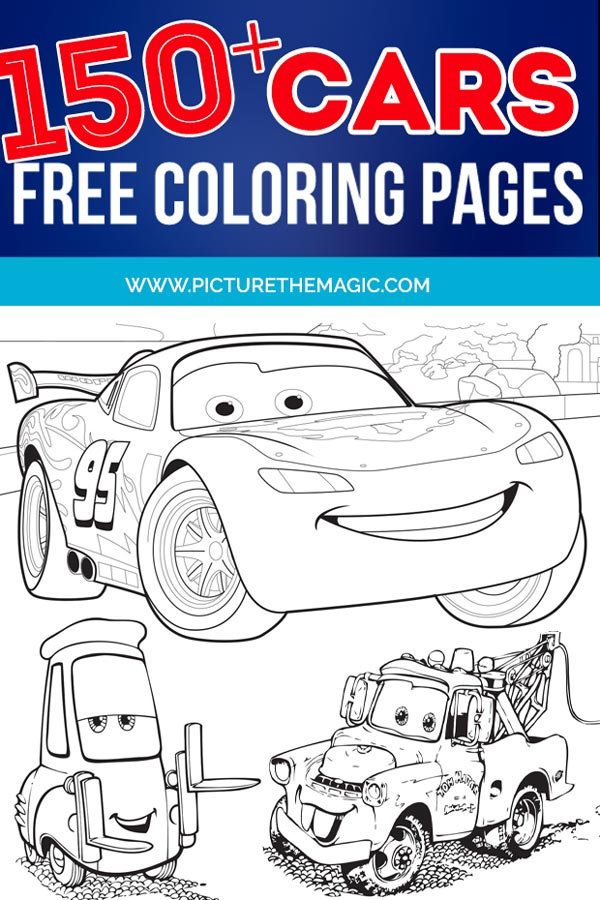 UPDATED] Lightning McQueen Coloring Pages (November 2020)