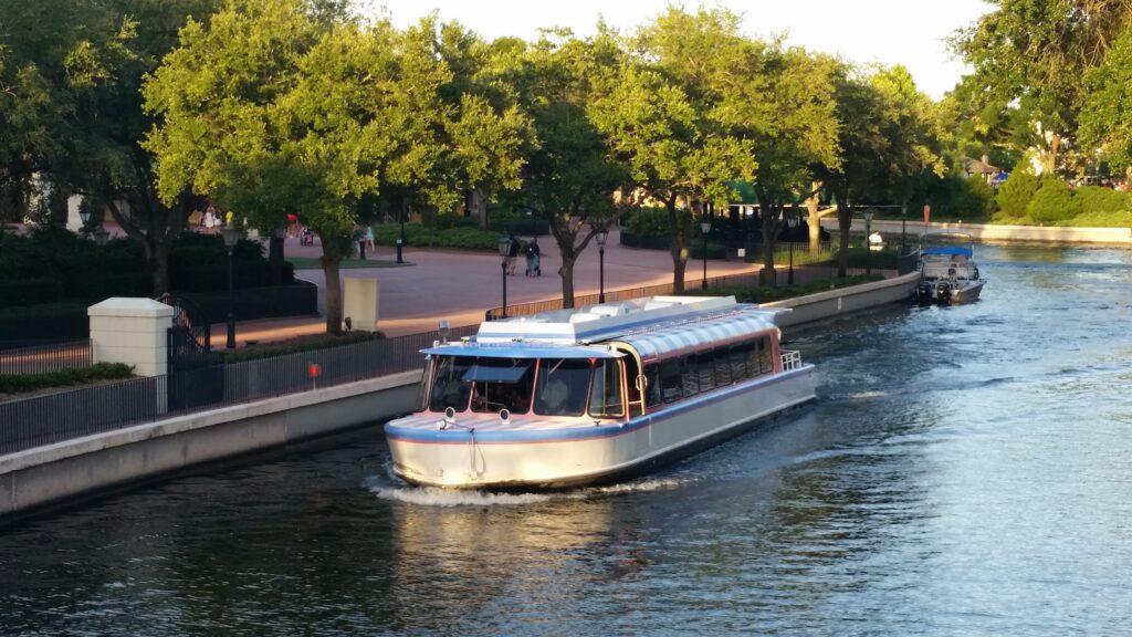 Water taxi at Walt Disney World