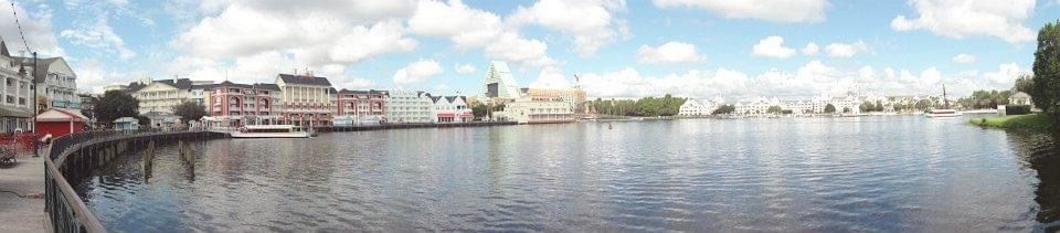 Image of Crescent Lake at Disney Yacht Club