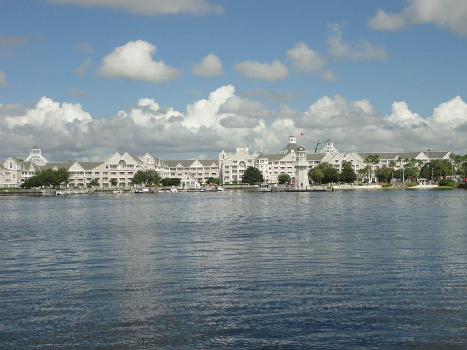 Disney Yacht Club from across the water