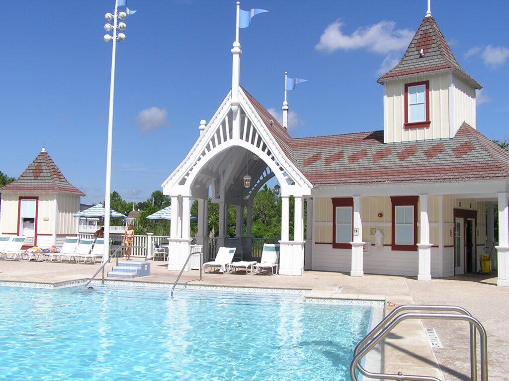 Leisure pool at Disney's Yacht Club