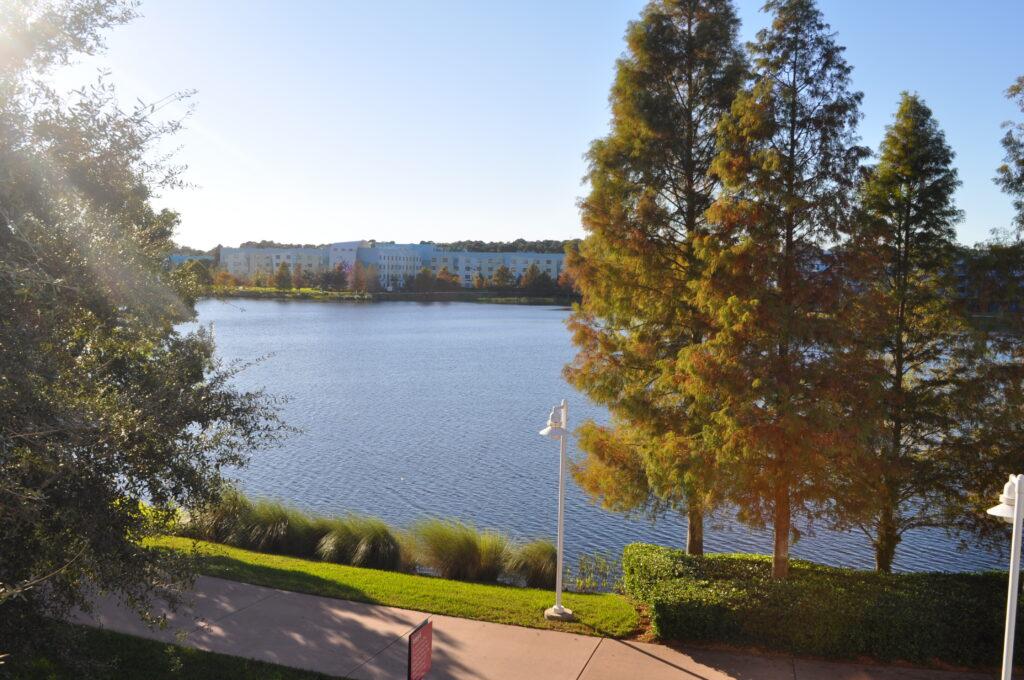 Lake view at Pop Century resort