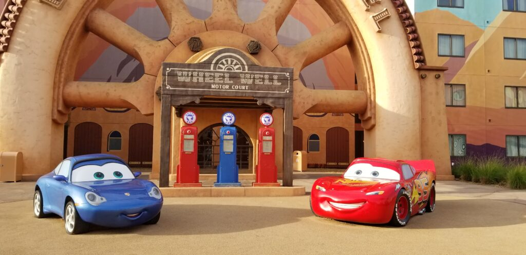 Cars Family Suites at Art of Animation resort