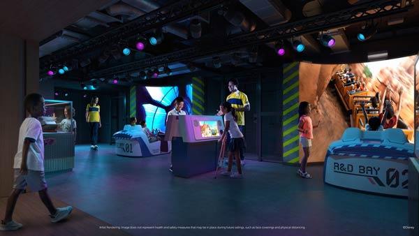 Walt Disney Imagineering Lab on Disney Wish
