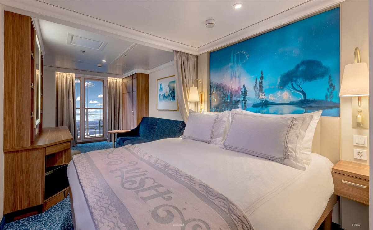 Disney Wish Staterooms