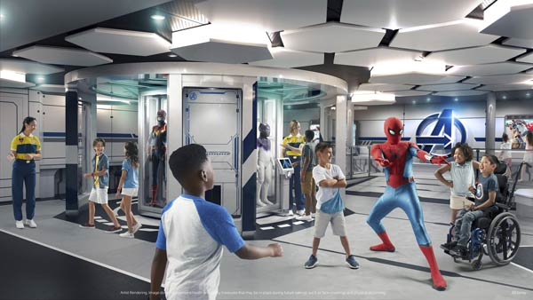 """Marvel Super Hero Academy: It's the Avengers headquarters! Your child will become a new """"recruit"""" and be trained to be a future superhero with personalized guidance by the likes of Black Panther, Ant-Man, the Wasp, and Spider-Man."""