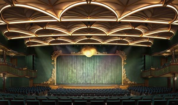 Walt Disney Theatre on Disney Wish cruise ship