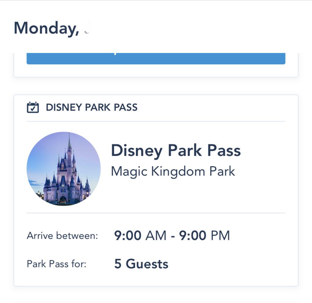Image: My Disney Experience App Screenshot