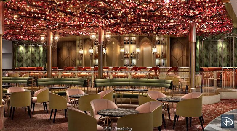 Bayou Lounge on the Disney Wish